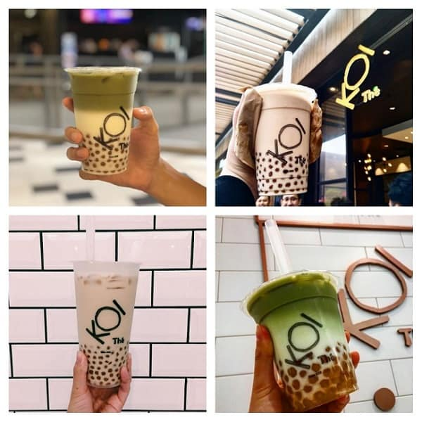 Quán trà sữa ở Kuala Lumpur, trà sữa Koi Thé ở Kuala Lumpur