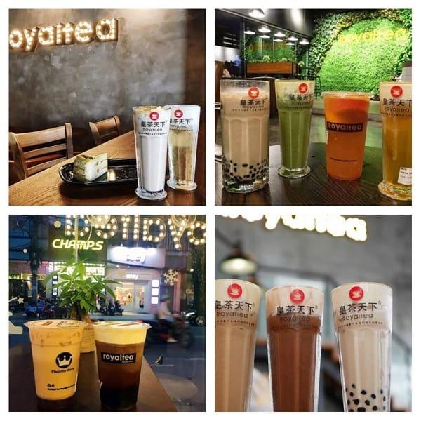 Quán trà sữa ngon ở Kuala Lumpur, trà sữa Royaltea