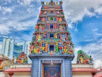 Đền Sri Mahamariamman - địa điểm tham quan ở Bukit Bintang