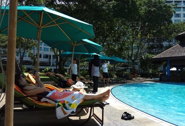 Khách sạn ở Sabah Malaysia. Khách sạn The Pacific Sutera Hotel. Khách sạn tốt nhất ở Sabah