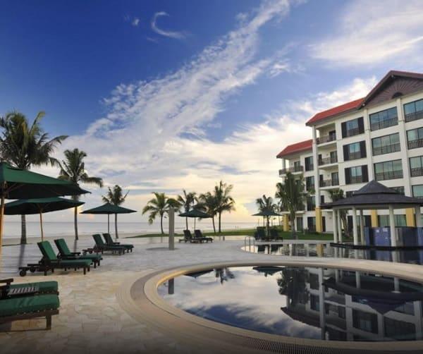Khách sạn ở Sabah Malaysia. Khách sạn view đẹp ở Sabah. Khách sạn Borneo Beach Villas
