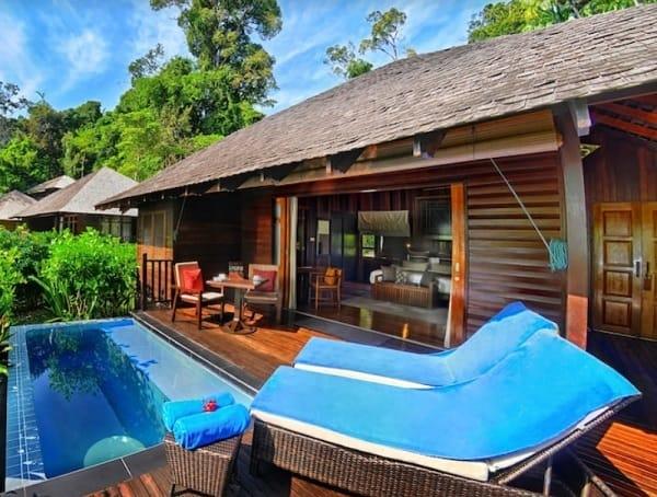 Khách sạn Bunga Raya Island Resort. Khách sạn giá tốt ở Sabah. Khách sạn ở Sabah Malaysia