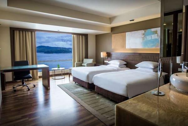 Khách sạn ở Sabah Malaysia. Khách sạn ở Sabah gần biển. Hyatt Regency Kinabalu Hotel