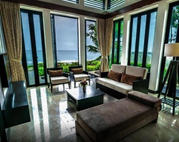 Khách sạn tốt nhất ở Sabah. Khách sạn Borneo Beach Villas. Khách sạn ở Sabah Malaysia