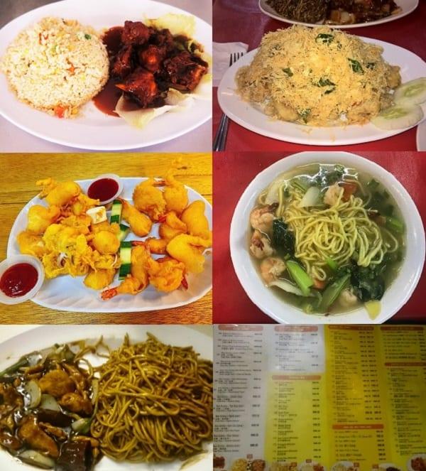 Quán ăn ở Sabah Malaysia. Quán ăn giá rẻ ở Sabah Malaysia. Quán My Harbour Restaurant