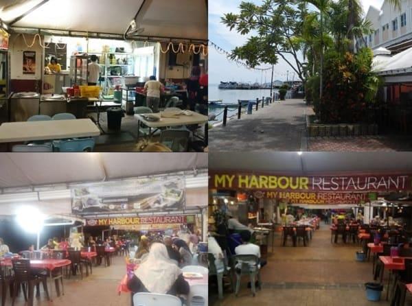 Đến Sabah nên ăn ở đâu? Quán ăn ở Sabah Malaysia. Quán My Harbour Restaurant