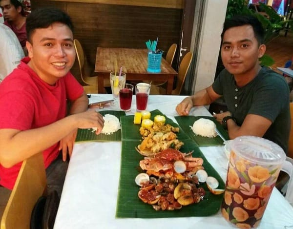 Quán ăn ở Sabah Malaysia. Quán ăn ngon ở Sabah Malaysia. Quán Selera Sri Keniogan