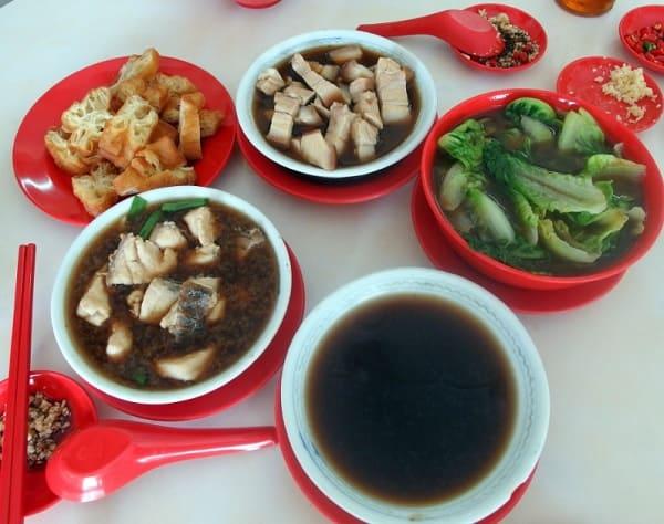 Quán ăn ở Sabah Malaysia. Quán Good Taste Restaurant. Quán ăn giá rẻ ở Sabah