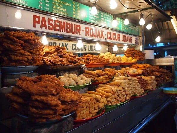 Khu ẩm thực đường phố ở Penang
