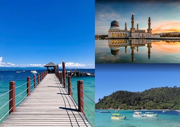 Cẩm nang du lịch Malaysia giá rẻ. Nên đi đâu chơi, tham quan ở Malaysia? Kota Kinabalu