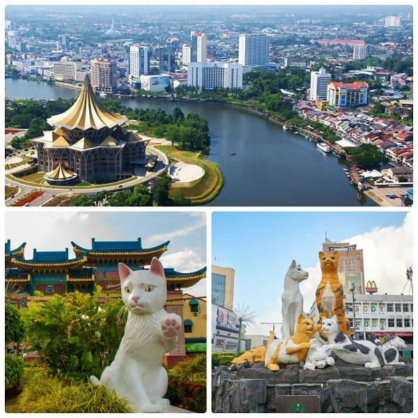 Thành phố mèo Kuching, một trong những địa điểm du lịch nổi tiếng ở Kuala Lumpur