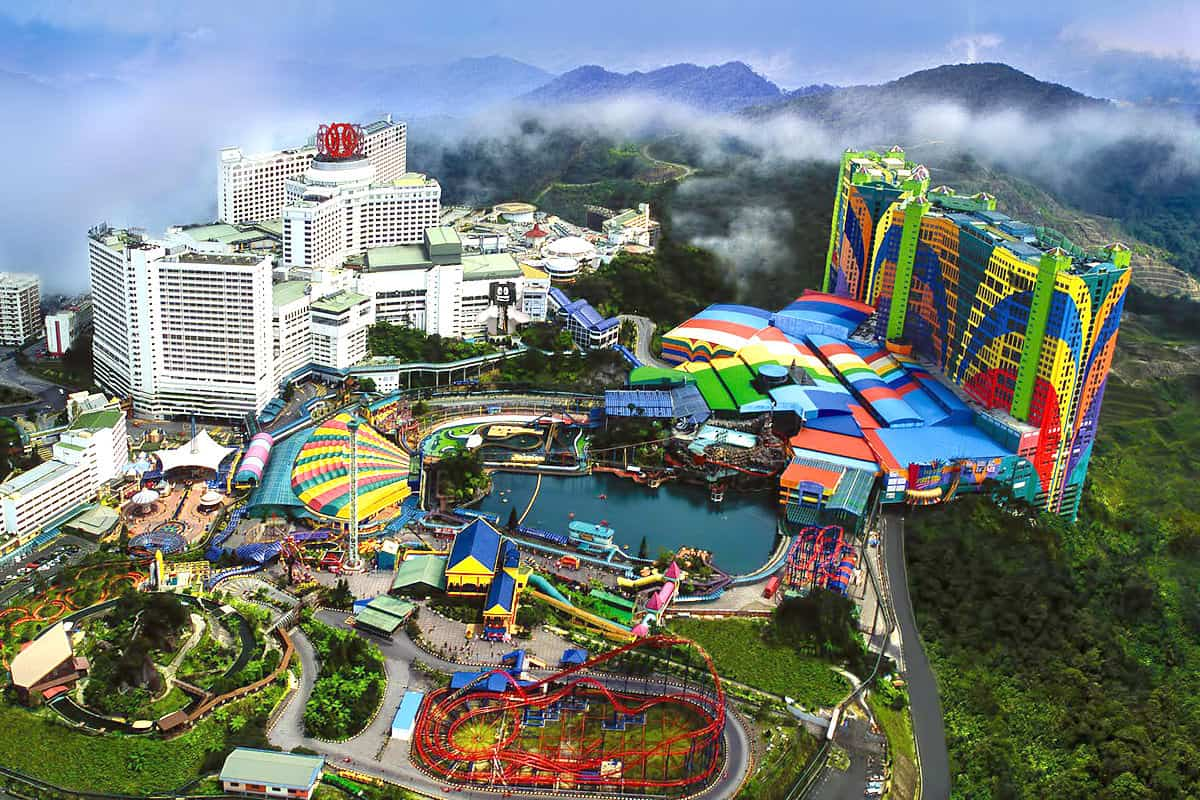 Địa điểm du lịch đẹp ở Malaysia, cao nguyên Genting ở Malaysia