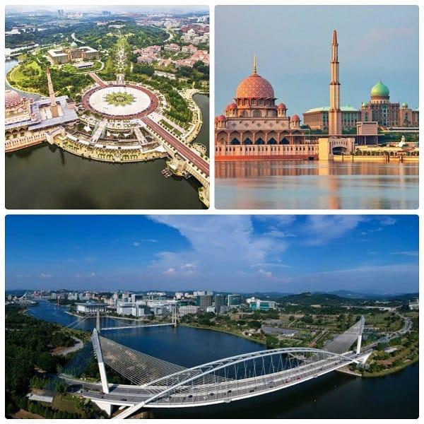Địa điểm du lịch ở Malaysia nổi bật, thành phố thông minh Putrajaya