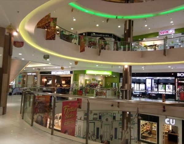 Địa điểm mua sắm ở Kuching Malaysia. Trung tâm thương mại Vivacity Megamall