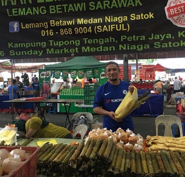 Địa điểm mua sắm ở Kuching Malaysia. Địa điểm mua sắm giá tốt ở Kuching. Chợ cuối tuần Satok