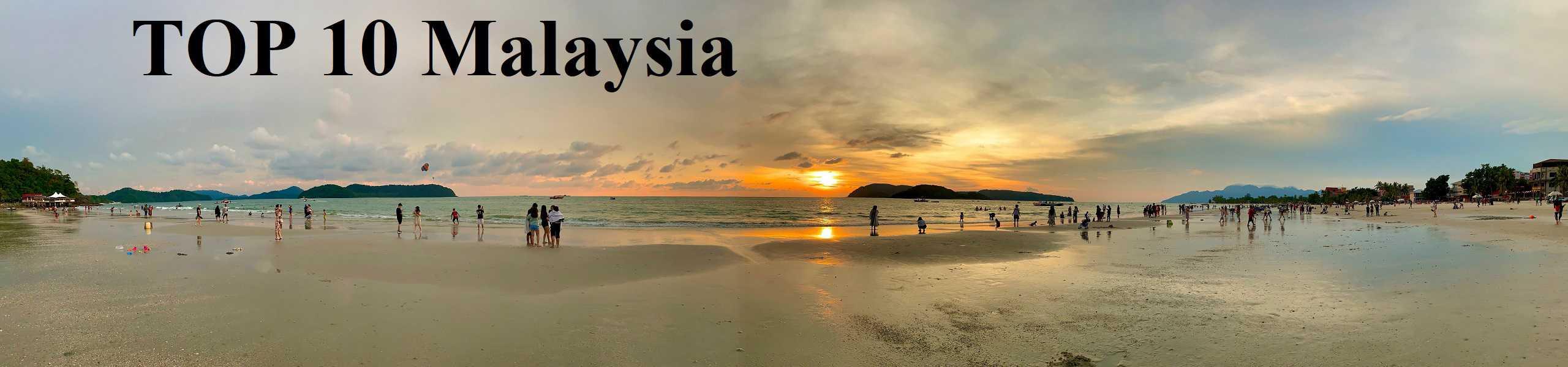 TOP 10 Malaysia chi tiết về điểm tham quan, vui chơi, ăn uống, mua sắm, khách sạn...