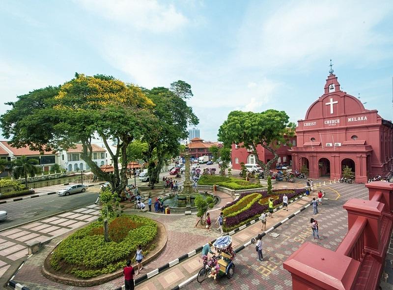Lịch trình du lịch Malaysia, thành phố Melaka