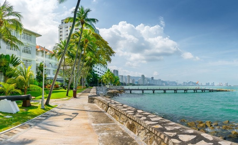 Lịch trình du lịch Malaysia 2 tuần, thành phố Penang