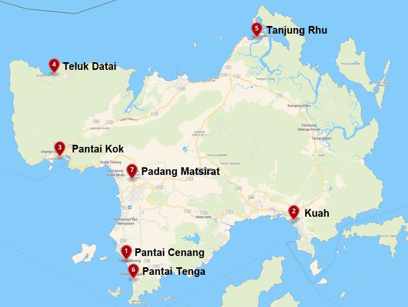 Du lịch Langkawi nên ở đâu? Các khu vực tốt nhất để đặt khách sạn ở Langkawi