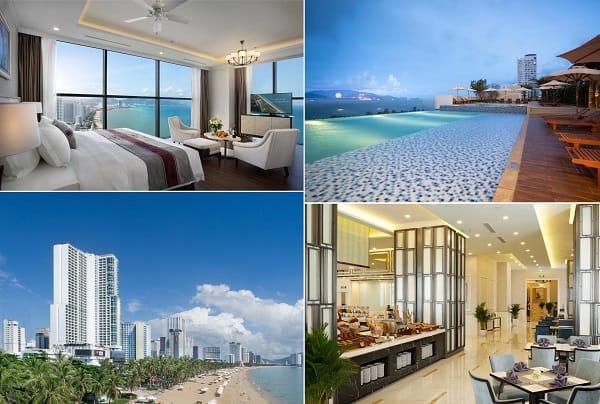 Khách sạn 5 sao Nha Trang đường Trần Phú tốt nhất: Khách sạn 5 sao ven biển Nha Trang view đẹp, tiện nghi