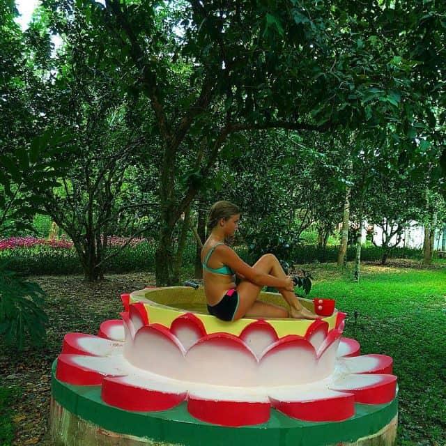 Kinh nghiệm đi khu du lịch Nhân Tâm, Nha Trang tự túc. Hướng dẫn, review khu du lịch sinh thái Nhân Tâm, Nha Trang cụ thể ăn ở...