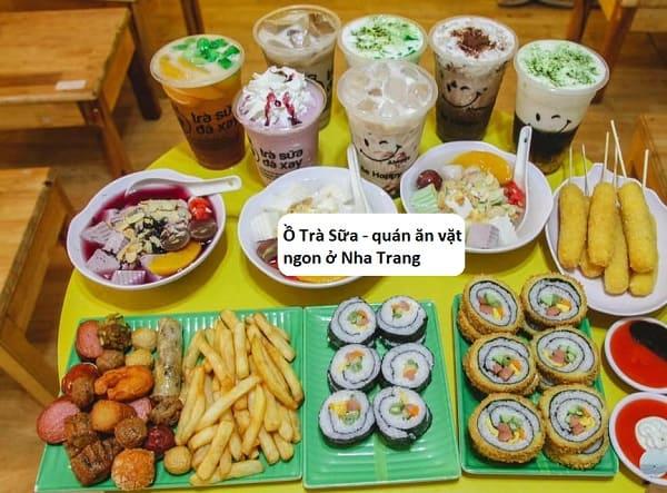Quán ăn vặt ngon ở Nha Trang nổi tiếng: Ăn vặt ở đâu Nha Trang ngon, bổ, rẻ?
