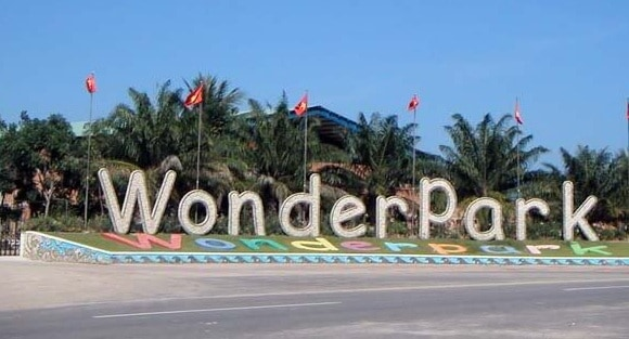 Công viên Wonder Park/ địa điểm vui chơi cho bé tại Nha Trang