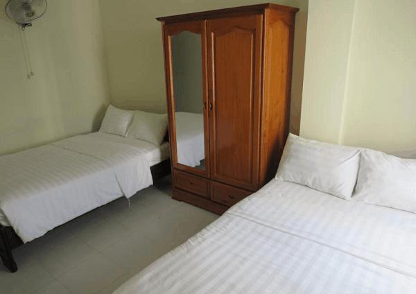 Nhà nghỉ Hải Quân Nha Trang - Nhà nghỉ sạch đẹp, giá tốt ở Nha Trang có phòng ăn lớn