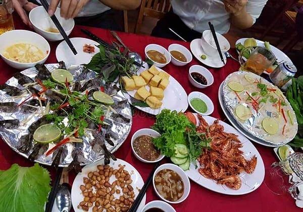 Quán hải sản Ớt Xanh - Quán ăn ngon đường Phạm Văn Đồng Nha Trang