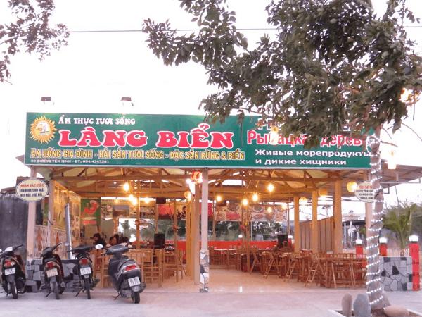 Nhà hàng Làng Biển - Địa điểm ăn uống ngon đường Phạm Văn Đồng Nha Trang