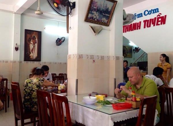 Cơm Thanh Tuyền - Quán ăn ngon rẻ đường Trần Phú Nha Trang