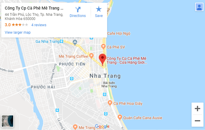 Mê Trang (MC 44) Cafe- Quán café phố biển đẹp ở Nha Trang