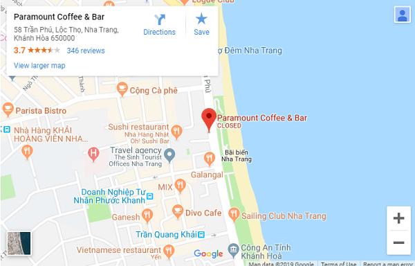 Paramount Cafe – Quán Cafe View Biển Đẹp