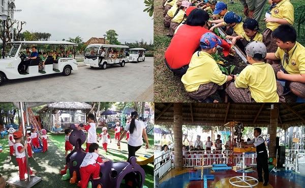 Khu vui chơi cho trẻ em ở Nha Trang