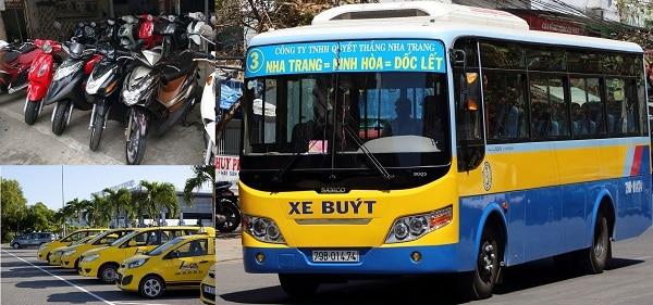 Kinh nghiệm du lịch Nha Trang tự túc: Du lịch Nha Trang bằng phương tiện gì?