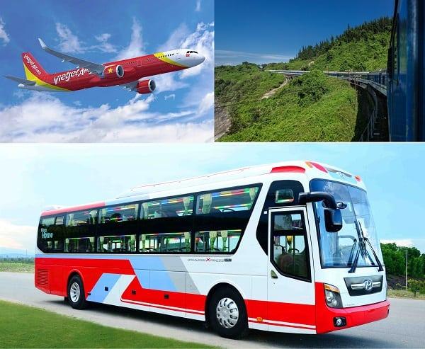 Kinh nghiệm du lịch Nha Trang tự túc, giá rẻ: Du lịch Nha Trang bằng phương tiện gì?
