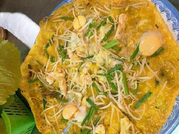 Bánh Xèo Chảo – Quán bánh xèo mực ngon ở Nha Trang