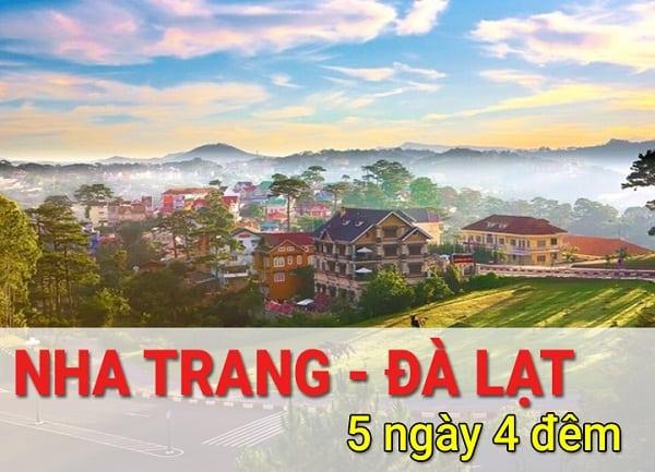 Du lịch Nha Trang Đà Lạt 5 ngày 4 đêm