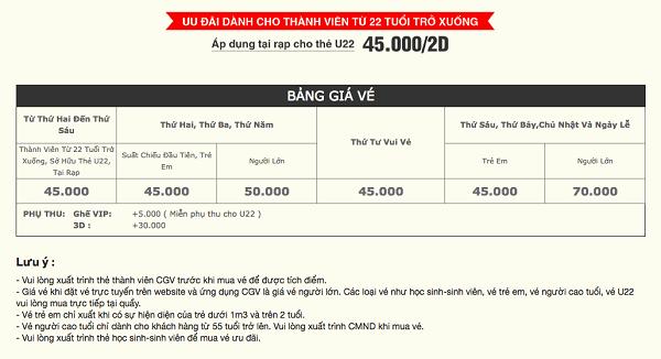 Rạp chiếu phim CGV Big C Nha Trang/ Xem phim ở đâu Nha Trang?