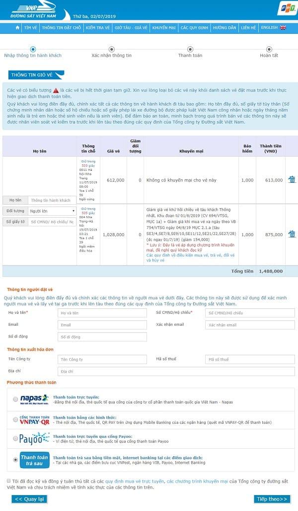 Mua vé tàu đi Nha Trang như thế nào? Hướng dẫn cách mua vé tàu đi Nha Trang