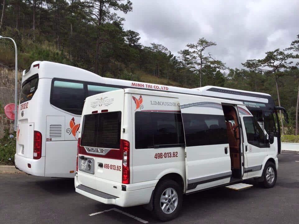 Thông tin các nhà xe limousine Nha Trang đi Đà Lạt mới nhất. Hướng dẫn di chuyển từ Nha Trang đi Đà Lạt bằng xe Limousine giá vé.