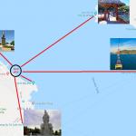 Bản đồ du lịch Nha Trang. Những điểm du lịch hướng gần biển ở Nha Trang