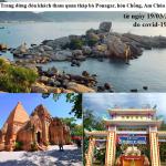 Nha Trang dừng đón khách du lịch từ 19 - 03 -2020 tại tháp bà Ponagar, Hòn Chồng, Am Chúa