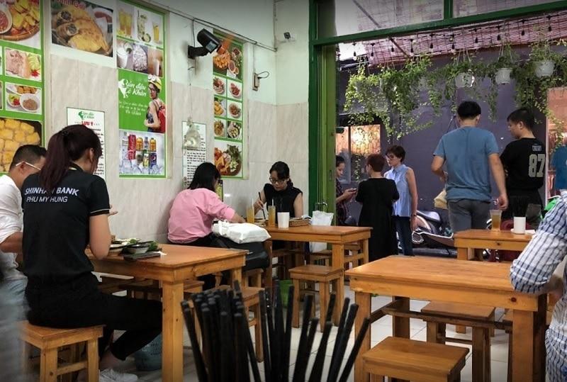 Ăn gì ở quận 1 Sài Gòn? Quán ăn ngon quận 1. Quán bún đậu Cô Khàn