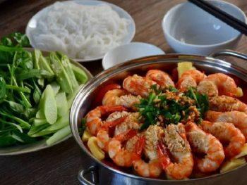 Các địa điểm ăn uống ở quận 10. Quán ăn ngon ở Sài Gòn quận 10. Quán lẩu tôm càng 5 Ri