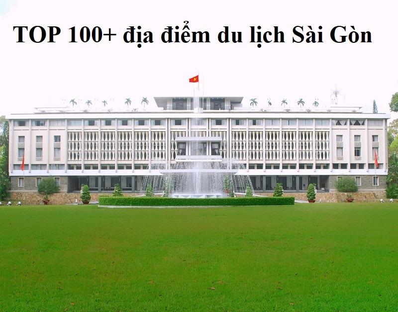 Địa điểm du lịch Sài Gòn nổi tiếng. Dinh Độc Lập