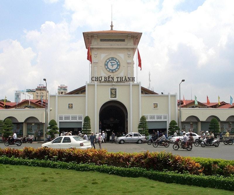 Địa điểm du lịch hấp dẫn ở Sài Gòn. Chợ Bến Thành