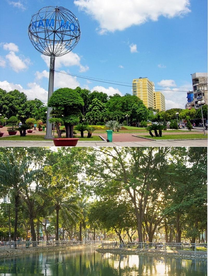 Địa điểm du lịch miễn phí ở Sài Gòn. Công viên 23/9