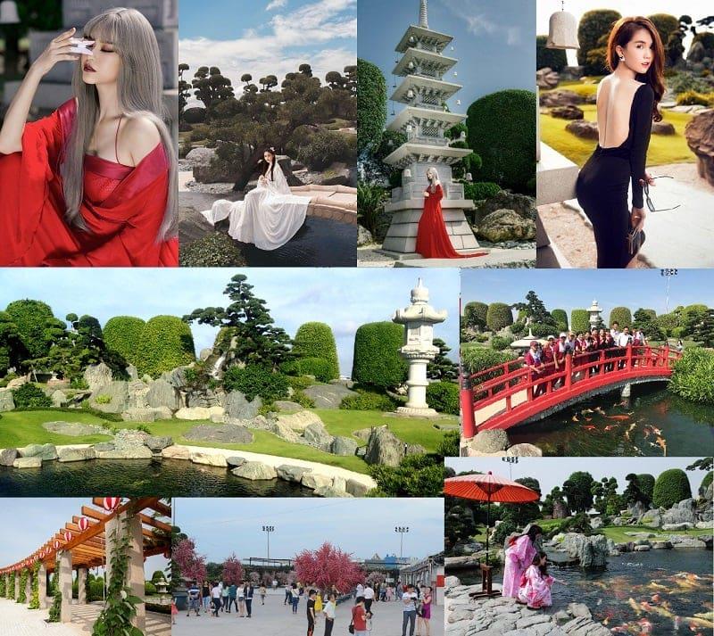 Địa điểm du lịch mới nổi ở Sài Gòn. Công viên đá nhật Rin Rin Park