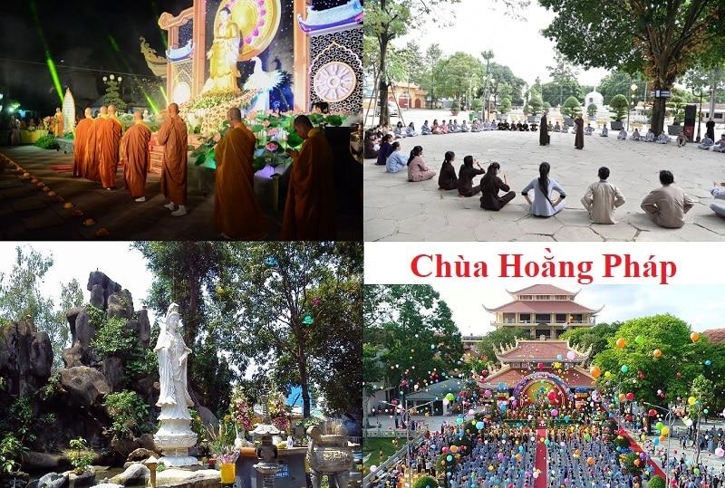 Địa điểm du lịch nổi tiếng ở TP Hồ Chí Minh. Chùa Hoằng Pháp